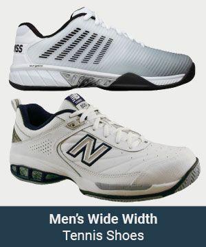 Men's Wide Width Shoes