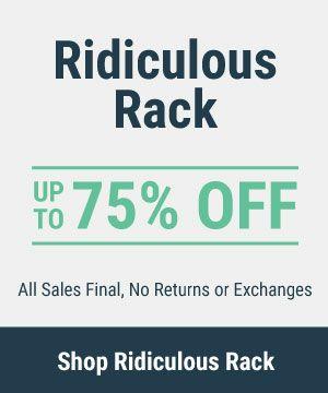 Ridiculous Rack for Men - Last Chance Apparel Deals
