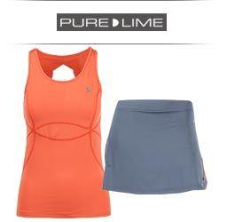 Pure Lime Women's Tennis Apparel