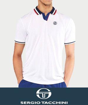 Sergio Tacchini Men's Tennis Apparel