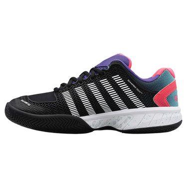 K Swiss Hypercourt Express Mens Tennis Shoe Black/White/Liberty 03377 027