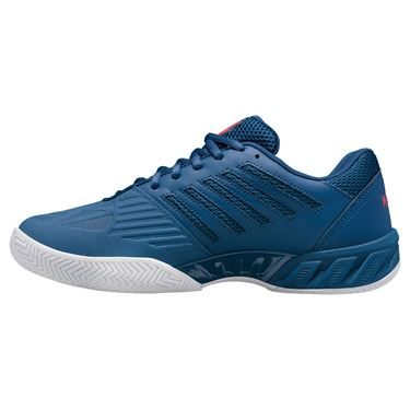 K Swiss Bigshot Light 3 Mens Tennis Shoe Dark Blue/Bittersweet/White 05366 430