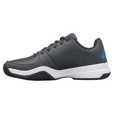K Swiss Court Express Mens Tennis Shoe Dark Shadow/White/Swedish Blue 05443 029