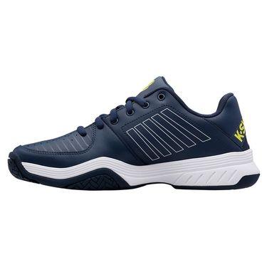 K Swiss Court Express Mens Tennis Shoe Moonlit Ocean/White/Love Bird 05443 420