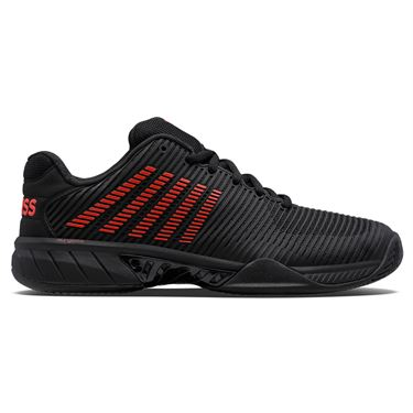 K Swiss Hypercourt Express 2 LE Mens Tennis Shoe Black/Red 06613 014