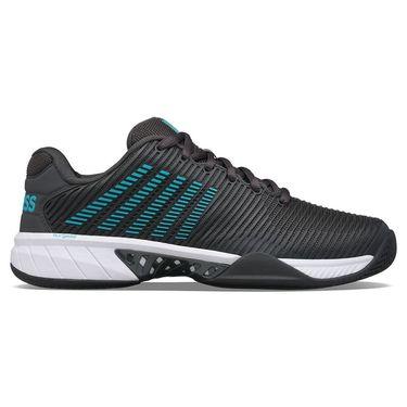 K Swiss Hypercourt Express 2 Mens Tennis Shoe Dark Shadow/Scuba Blue/White 06613 028