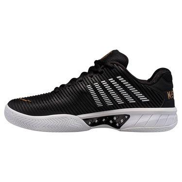 K Swiss Hypercourt Express 2 Mens Tennis Shoe Black/Gold/White 06613 093