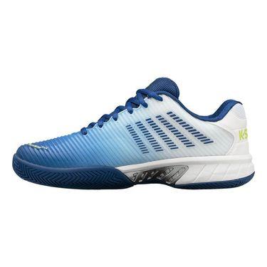 K Swiss Hypercourt Express 2 Mens Tennis Shoe White/Limoges/Sharp Green 06613 163