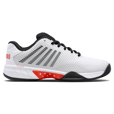 K Swiss Hypercourt Express 2 Mens Tennis Shoe Barely Blue/Black/Poppy Red 06613 405