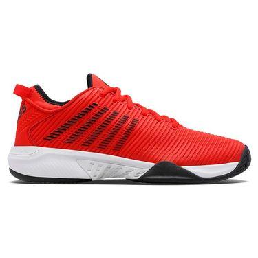 K Swiss Hypercourt Supreme Mens Tennis Shoe Poppy Red/White/Black 06615 674