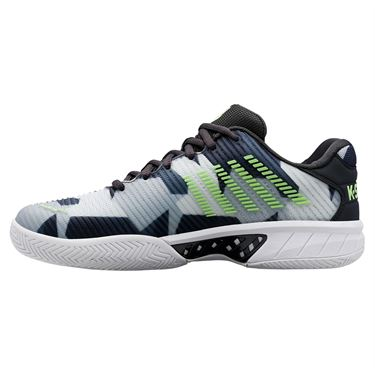 K Swiss Hypercourt Express 2 Mens Tennis Shoe Dark Shadow/Bone/Gull Grey/Charcoal 06964 947