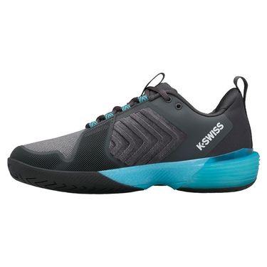 K Swiss Ultrashot 3 Mens Tennis Shoe Dark Shadow/Scuba Blue/White 06988 028
