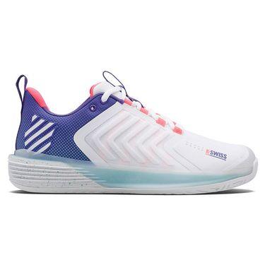 K-Swiss Ultrashot 3 LE Beach House Mens Tennis Shoe White/Blue/Turquoise 06988 184û