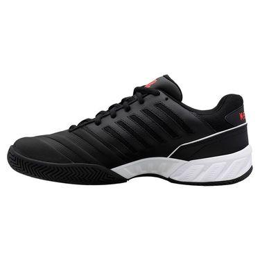 K Swiss Bigshot Light 4 Mens Tennis Shoe Black/white/Poppy Red 06989 043