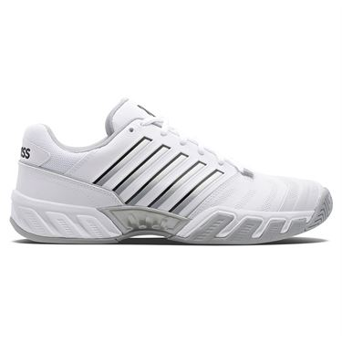 K Swiss Bigshot Light 4 Mens Tennis Shoe White/HiRise/Black 06989 162