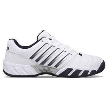 K Swiss Bigshot Light 4 Mens Tennis Shoe White/Peacoat/Silver 06989 177