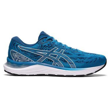 Asics Gel Cumulus 23 Mens Running Shoe Reborn Blue/White 1011B012 400