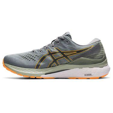 Asics Gel Kayano 28 Mens Running Shoe Sheet Rock/Orange Pop 1011B189 020