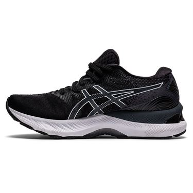 Asics Gel Nimbus 23 Womens Running Shoe Black/White 1012A885 001