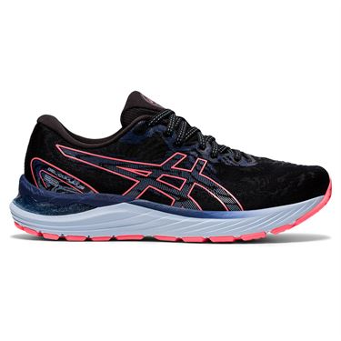Asics Gel Cumulus 23 Womens Running Shoe Black/Blazing Coral 1012A888 019