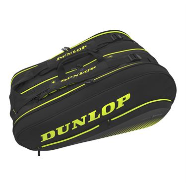 Dunlop Srixon SX Performance 12 pack Tennis Bag - Black/Yellow