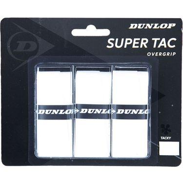 Dunlop Super Tac Overgrip White (3 Pack)
