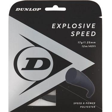 Dunlop Srixon Explosive Speed 17g Black Tennis String