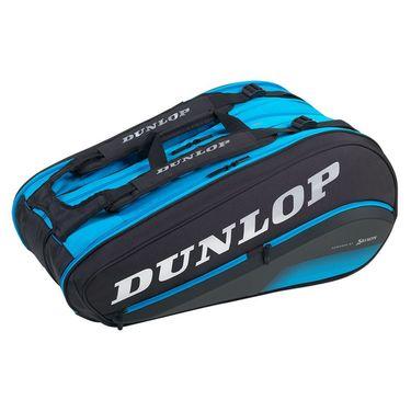 Dunlop FX Performance 12 Pack Tennis Bag - Black/Blue