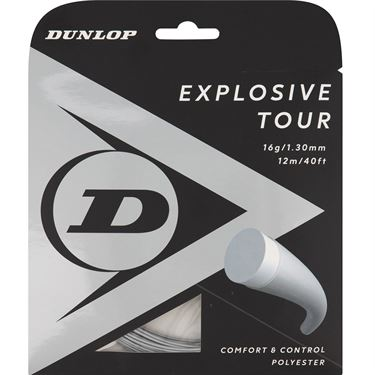 Dunlop Srixon Explosive Tour 16g Silver Tennis String