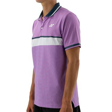 Yonex Tournament Polo Mens Lavender 10386LV