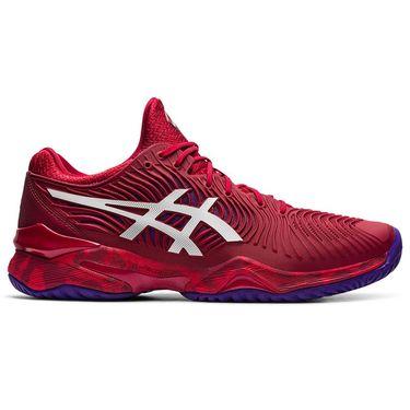 Asics Court FF 2 Novak Mens Tennis Shoe - Cranberry/White