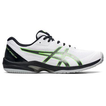 Asics Court Speed FF Mens Tennis Shoe White/Gun Metal 1041A092 106