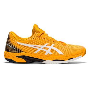 Asics Solution Speed FF 2 Mens Tennis Shoe - Amber/White   Tennis ...