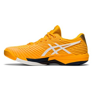Asics Solution Speed FF 2 Mens Tennis Shoe Amber/White 1041A182 800