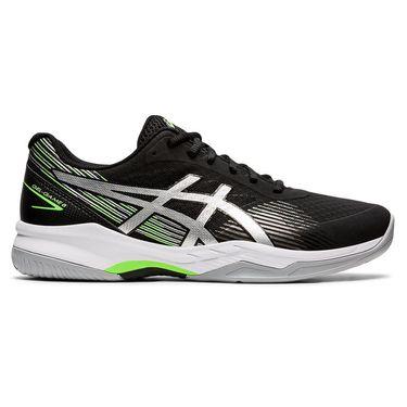 Asics Gel Game 8 Mens Tennis Shoe Black/Pure Silver 1041A092 004