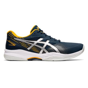 Asics Gel Game 8 Mens Tennis Shoe French Blue/Pure Silver 1041A192 400