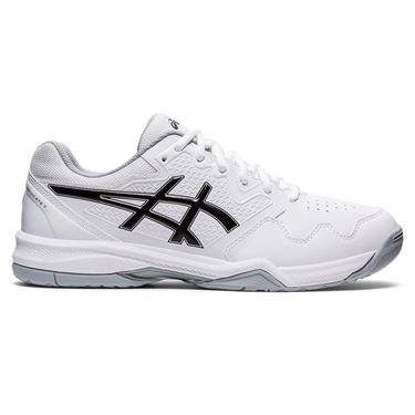 Asics Gel Dedicate 7 Mens Tennis Shoe White/Black 1041A223 100