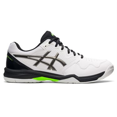Asics Gel Dedicate 7 Mens Tennis Shoe White/Gunmetal 1041A223 101
