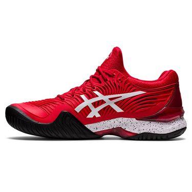 Asics Court FF 2 Novak LE Mens Tennis Shoe - Red/White