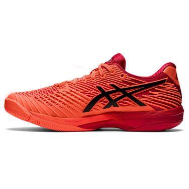Asics Solution Speed FF 2 Mens Tennis Shoe Tokyo Sunrise Red/Eclipse Black 1041A278 701