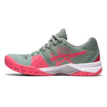 Asics Gel Challenger 12 Womens Tennis Shoe Slate Grey/Pink Cameo 1042A041 021