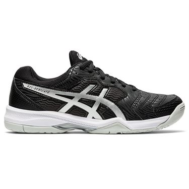 Asics Gel Dedicate 6 Womens Tennis Shoe Black/White 1042A067 002