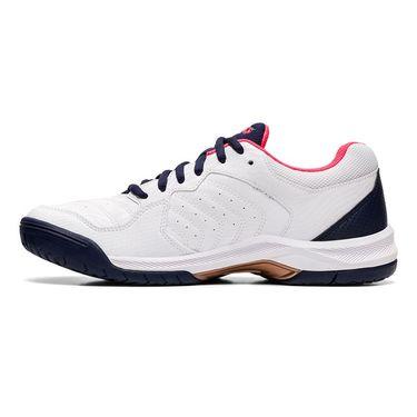 Asics Gel Dedicate 6 Womens Tennis Shoe White 1042A067 103