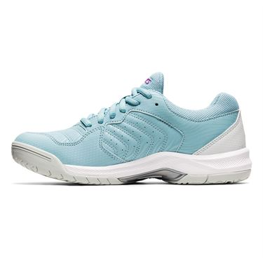 Asics Gel Dedicate 6 Womens Tennis Shoe Smoke Blue/White 1042A067 401