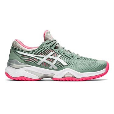 Asics Court FF 2 Womens Tennis Shoe Slate Grey/White 1042A076 021