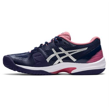 Asics Court Speed FF Womens Tennis Shoe Peacoat/Pure Silver 1042A080 403