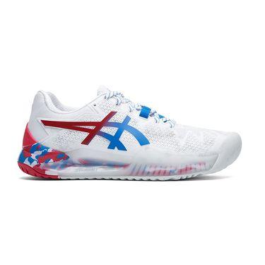 Asics Gel Resolution 8 LE Womens Tennis Shoe - Electric Blue ...