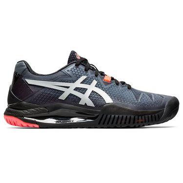 Asics Gel Resolution 8 LE Womens Tennis Shoe Black/Sunrise Red 1042A122 010
