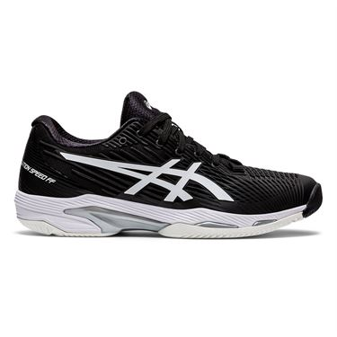 Asics Solution Speed FF 2 Womes Tennis Shoe Black/White 1042A136 001