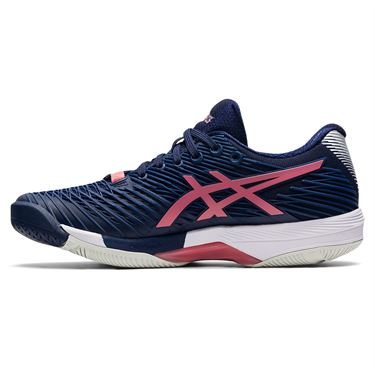 Asics Solution Speed FF 2 Womens Tennis Shoe Peacoat/Smokey Rose 1042A136 402